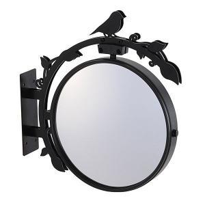 駐車場 車庫 カーブミラー 鏡 道路反射鏡 おしゃれなガレージミラー バード|e-housemania