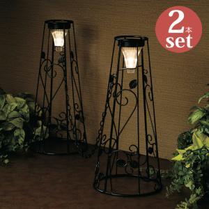 駐車場ポール 駐車場フェンス チェーンスタンド スタッキング可 クローズゲートコーン LED ソーラーライト付き|e-housemania