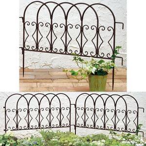 花壇フェンス・ガーデニングフェンスは塀で囲んでいないオープン外構や花壇に、ちょっとした邪魔しない程度...