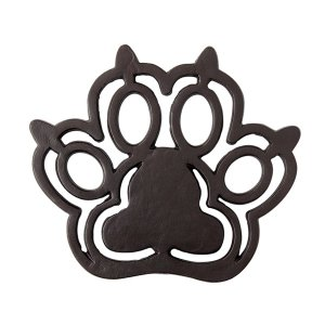 玄関マット 屋外用 ステップストーン cat foot point  エントランスマット スチール製|e-housemania