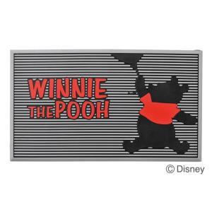 玄関マット 屋外用 ディズニー プーさん 水洗い可 エントランスマット 泥落とし マット