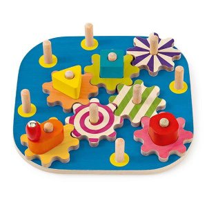セレクタ ギアボード 木のおもちゃ SERECTA ドイツ 知育 玩具 出産 御祝 誕生日 クリスマス プレゼント|e-interia