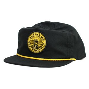 ANTI HERO  SNAP BACK CAP   STAYREADY MICRO  BLACK(黒)   (アンタイヒーロー)(キャップ)|e-issue
