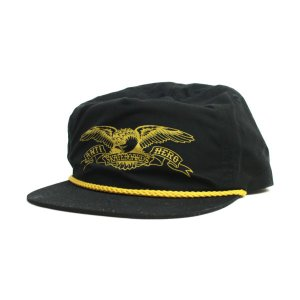ANTI HERO  SNAP BACK CAP   BASIC EAGLE  BLACK   (アンタイヒーロー)(キャップ)|e-issue