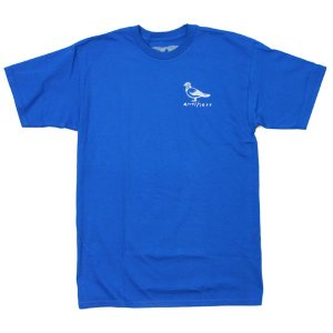 ANTI HERO Tシャツ ブルー  BASIC PIGEON BLUE|e-issue