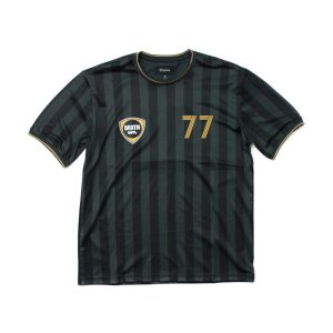 BRIXTON  KNIT Tシャツ 黒  ASTON BLACK  (ブリクストン)|e-issue