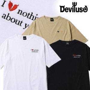 Deviluse Big Tシャツ Hate Nothing デビルユース 半袖 ビッグTEE|e-issue