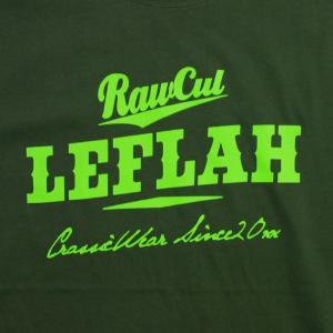 Leflah  Tシャツ  Score logo D-グリーン   (レフラー)|e-issue|03