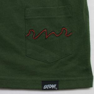 Leflah  Tシャツ  Score logo D-グリーン   (レフラー)|e-issue|04