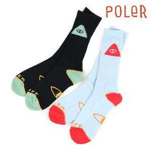 POLeR ソックス CYCLOPS ICON SOCK ポーラー 靴下|e-issue