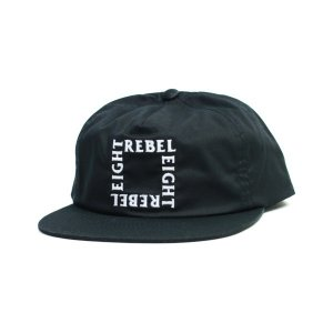 REBEL8   CAP   Paradoxal SNAPBACK   黒   (REBEL EIGHT)(マイクジャイアント) (キャップ)|e-issue