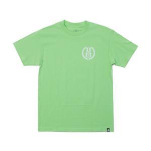 REBEL8 Tシャツ LAURELS   ミントグリーン  (REBEL EIGHT)(マイクジャイアント)|e-issue