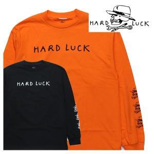 HARD LUCK ロンTEE Mark Werd Logo  ハードラック 長袖 Tシャツ|e-issue