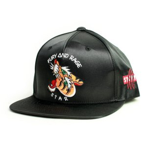 SQUARE  CAP  SATIN SNAP BACK  BLACK(黒)   (スクエア)(キャップ)|e-issue