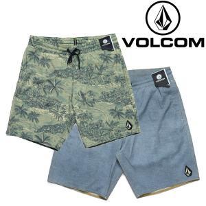 VOLCOM ショートパンツ TTT TRUNK 18インチ ボルコム ハーフパンツ|e-issue