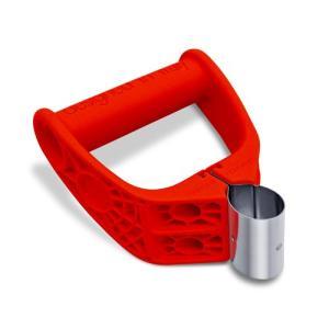 イタリア生まれ 特許取得 エルゴパワーグリップ(レッド) 1個|e-item679p