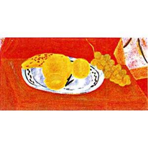 ピエール・ボンコンパン リトグラフ「デルフト皿の果物」|e-kakejiku