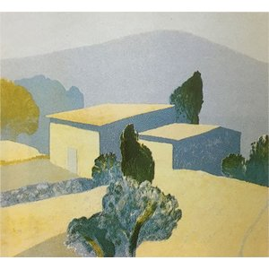 ロジェ・ミュール「農家」リトグラフ 巨匠の絵画|e-kakejiku
