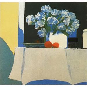ロジェ・ミュール「ピンクのテーブルクロス」リトグラフ 巨匠の絵画|e-kakejiku