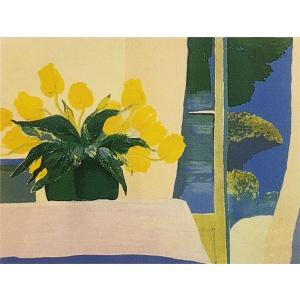 ロジェ・ミュール「開いた窓」リトグラフ 巨匠の絵画|e-kakejiku