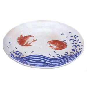 九谷焼 「豊漁」8.5号盛皿|e-kakejiku