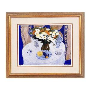 ピエールボンコンパン リトグラフ「記念日の食卓」巨匠の絵画|e-kakejiku