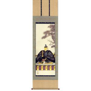 掛け軸 天神 山村観峰作 (モダン インテリア 掛軸)|e-kakejiku