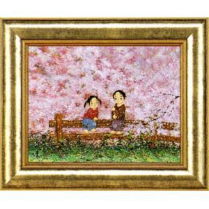 絵画 「桜さくら」開田風童(ジクレー版画)|e-kakejiku