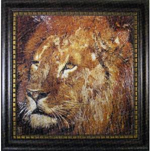 アート 「ライオン」|e-kakejiku