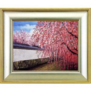 絵画 F6号「陽春」加藤芳雄作(油絵)|e-kakejiku