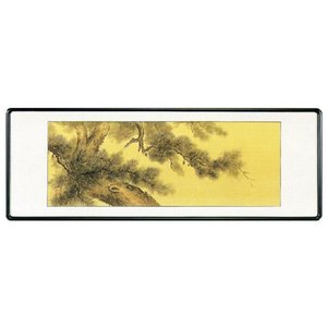 欄間額「老松」丹羽仙秀作 (欄間額・書・花鳥・山水)|e-kakejiku