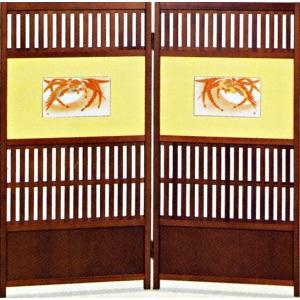 九谷焼 衝立(二曲)・鳳凰 福田昇竜 お祝い 和室|e-kakejiku