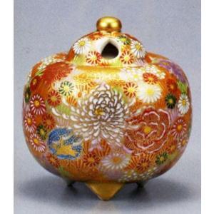 香炉 九谷焼 3.5号香炉・花詰 お祝い・海外への贈り物・ギフト|e-kakejiku