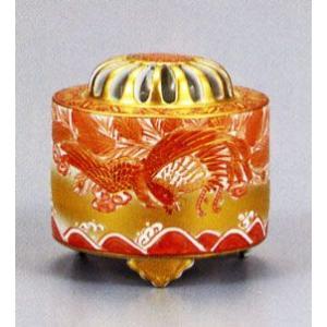 香炉 九谷焼 3号香炉・鳳凰 佐伯善信 お祝い・海外への贈り物・ギフト|e-kakejiku