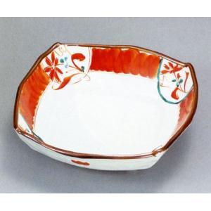 九谷焼 7号鉢・赤絵|e-kakejiku