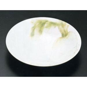 九谷焼 7.5号盛皿・大根 文吉窯|e-kakejiku