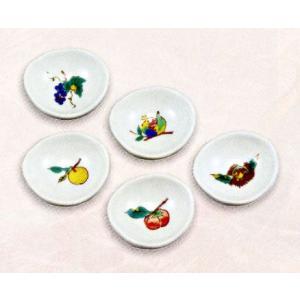 九谷焼 箸置・果実 お祝い 和室 御膳|e-kakejiku