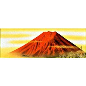 WSM色紙 「赤富士」名和嶂雲作|e-kakejiku