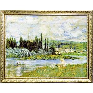 モネ 「Vetheuilsur Seine 1880」|e-kakejiku