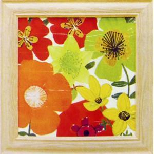 絵画「ガーデンブライツ1」ペラ(Pela)/花の絵画/アート|e-kakejiku