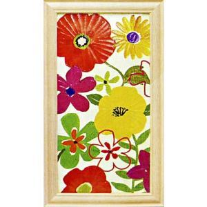 絵画「ウォーターカラーガーデンパネル1」ペラ(Pela)/花の絵画/アート|e-kakejiku