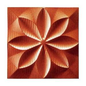 プラデック ウォール アート 「フローラル(メタルオレンジ)」|e-kakejiku