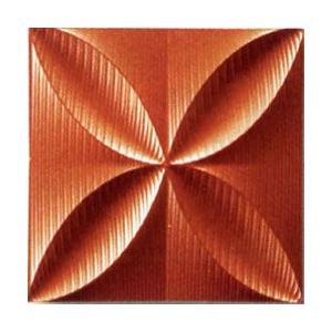 プラデック ウォール アート 「エコー(メタルオレンジ)」|e-kakejiku
