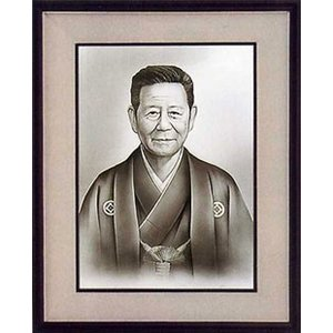 肖像画 F8 彩絵|e-kakejiku