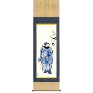 掛け軸 鐘馗 山村観峰作 端午の節句掛軸 こどもの日掛け軸|e-kakejiku