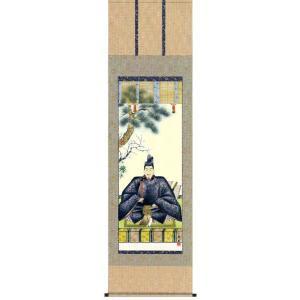 掛け軸 「天神」奥村精園作 (モダン インテリア 掛軸)|e-kakejiku