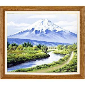 絵画 F20号「富士」 丹羽 勇 作(油絵)|e-kakejiku
