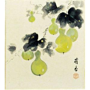 色紙 「六瓢」島田萌香作|e-kakejiku