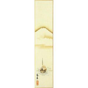 短冊「富士」林春夫画伯 (季節や月ごとに楽しめる短冊)|e-kakejiku