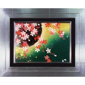 日本画 「桜」植田環(直筆・日本画)F4号|e-kakejiku